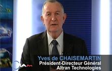 Entretien avec M. Yves de CHAISEMARTIN