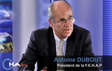 Entretien avec M. Antoine DUBOUT
